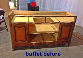Repurposed Furniture For Bathroom Vanity Turning A Buffet Into A Bathroom Vanity Hometalk