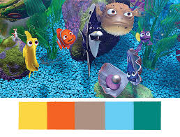 these disney pixar palettes are the most aesthetically pleasing