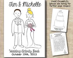 children u0027s digital printable wedding activity book