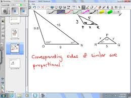 finding missing measures using similar triangles youtube