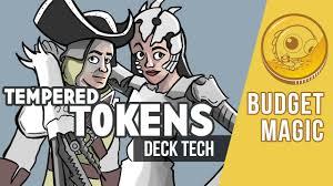 budget magic 92 43 tix modern tempered tokens deck tech