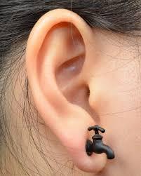 ear earings 1pc faucet stud earring faucet studs rock