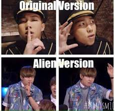 Aliens Meme Original - bangtan memes bts originals and memes