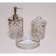 9 bella lux mirror rhinestone bathroom accessories low