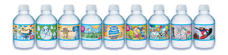 nestle pure life kid designed labels