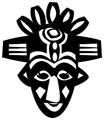 file african mask svg wikimedia commons