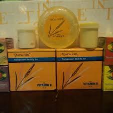 Sabun Vitamin E mohaya kosmetik set pelengkap krim racikan vitamin e metal
