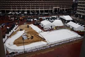 boston winter u0027 wonderland to open on redesigned city hall plaza