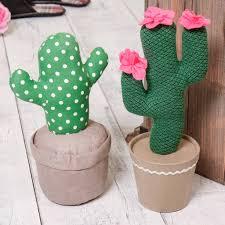 weighted door stop cactus fabric door stop by dibor notonthehighstreet com