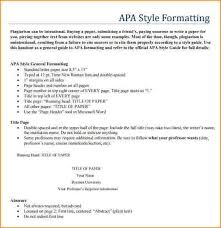 apa format template apa style report 6th edition office templates