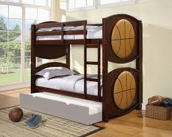 Wood Bunk Bed Designs by Bedroom Designs Astonishing Black White Basket Ball Theme Unique