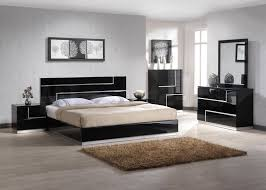 Black Modern Bed Frame Black Modern Bedroom Furniture Eo Furniture