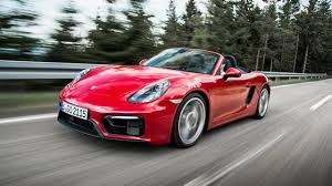 porsche boxster red first drive porsche boxster 3 4 gts 2dr 2014 2016 top gear