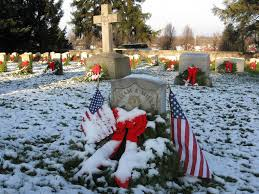 gettysburg soldiers national cemetery christmas wreaths 2009