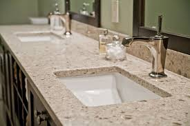 furniture modern bathroom design with silestone vs granite and