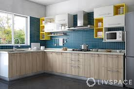 wooden kitchen design l shape cook up a in your l shaped kitchen