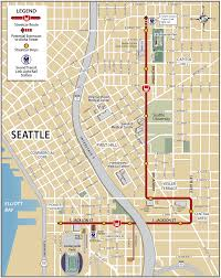 Seattle Rail Map by First Hill Streetcar Line Begins In Late 2014 Rail Travel
