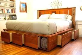 Bed Frames With Storage Drawers And Headboard Storage Headboard For Bed Platform Bed With Storage