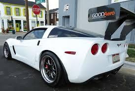 corvette wing goodaero llc thoughtfully designed aerodynamics for racing cars