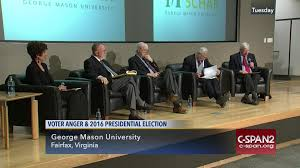 2016 Presidential Election Map People S Pundit Daily by George Mason University Hosts Discussion Voter Anger Oct 18 2016