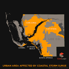 Cape Coral Florida Map 2015 Storm Surge Maps