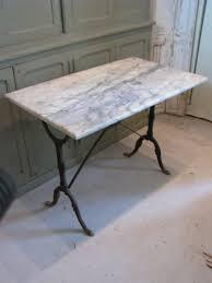 French Marble Dining Table Nice Early Bistro Table From France Iron Base Table Measures 24 X
