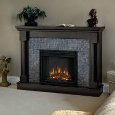 electric fireplace heaters lowes chimney free cherry wood veneer
