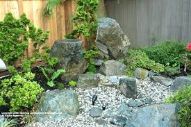 Rocks For Rock Garden River Rock Landscape Edging Small Front Yard With River Rocks