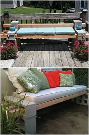 Raised Garden Bed With Bench Seating Wonderful Diy Amazing Garden Pond