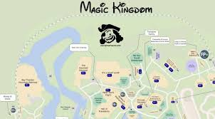 magic kingdom disney map magic kingdom map with character locations