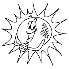 happy sun coloring page getcoloringpages com
