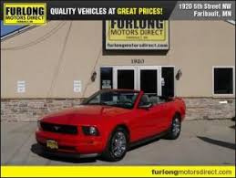 mustang convertibles for sale and used ford mustang convertibles for sale in minnesota mn