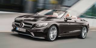 mercedes convertible mercedes benz s class coupe cabriolet revealed here in april 2018