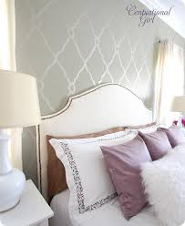 Accent Wall Wallpaper Bedroom Great Master Bedroom Inspiration By Bloggers