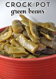 crock pot green beans recipes that crock