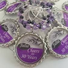 50th birthday favors party supplies 2 personalized wine charms online store powered
