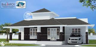 Kerala Style 3 Bedroom Single Floor House Plans 1634 Sq Ft Contemporary Single Floor Home Design Home Interiors