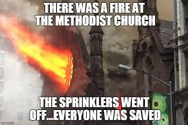 Fire Meme - church fire imgflip