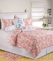 Beach Themed Comforter Sets King Total Fab Coral Colored Comforter And Bedding Sets