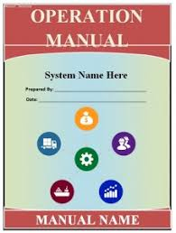 operations manual template guide help steps