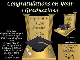 second marketplace congratulations on your graduation gold