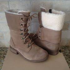 womens ugg boots size 12 ugg appalachin chestnut suede exposed shearling lace up womens