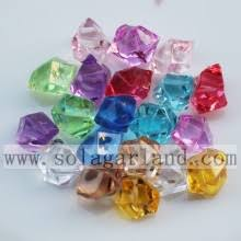 Vase Stones Plastic Crystal Stone Beads Crystal Stone Beads Plastic Crystal
