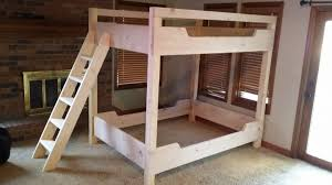 Futon Bunk Bed Woodworking Plans by Bunk Beds Twin Over Queen Bunk Bed Plans Queen Over Queen Bunk