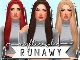 sims 4 maxis match cc hair sims 4 hair maxis match