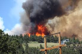 Fires Near Denver Map by Nearly 2 000 Evacuated After Cold Springs Fire 9news Com