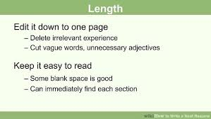 The 25 Best Chronological Resume by How To Write A Neat Resume 13 Steps With Pictures Wikihow