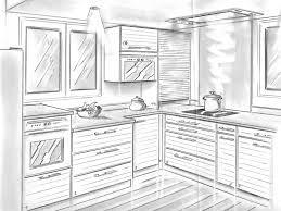 dessiner en perspective une cuisine cuisine placard dressing rangements nazaire la baule