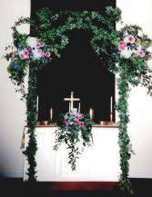 wedding altar flowers wedding flowers from barrett s flower gardens your local