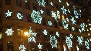 Snowflake Lights Outdoor Christmas Snowflake Christmas Lights For Windows Strings